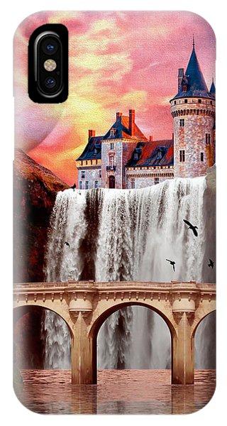 Great Falls Castle IPhone Case