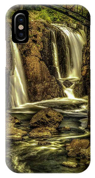 Great Falls Close Up IPhone Case