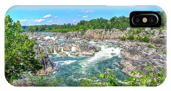 Great Falls On The Potomac IPhone Case
