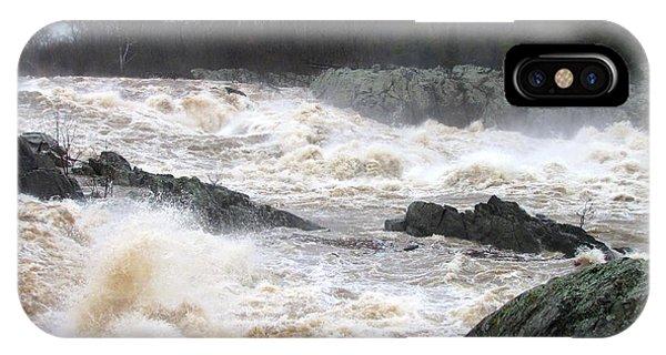 Great Falls Torrent IPhone Case