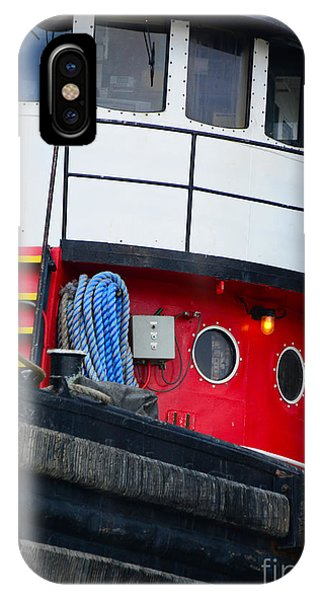 Great Lakes Tugboat IPhone Case