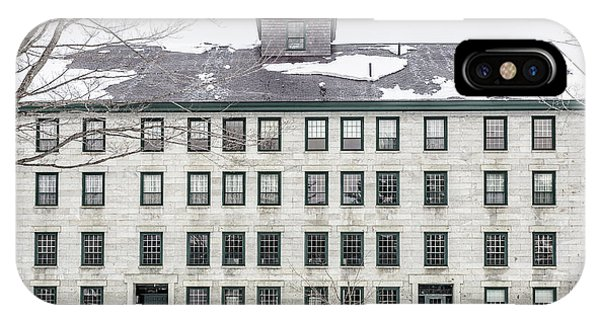 New England Barn iPhone Case - Great Old Stone Building Historic Shaker Dwelling by Edward Fielding
