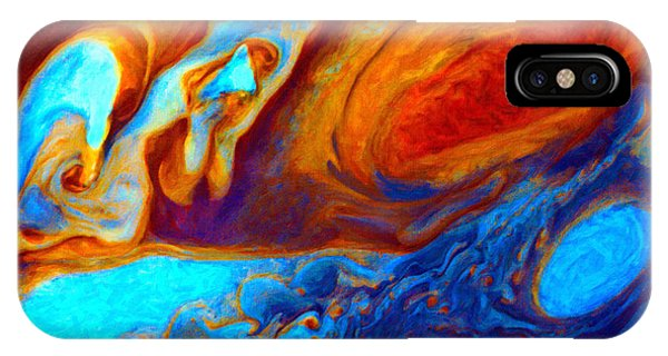 Jovian Turbulence IPhone Case
