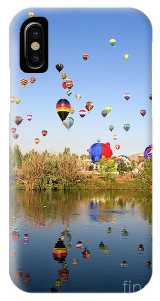 IPhone Case featuring the photograph Great Reno Balloon Races by Steven Frame