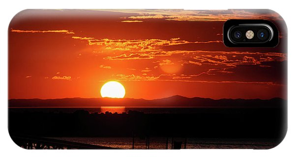 Great Salt Lake Sunset IPhone Case