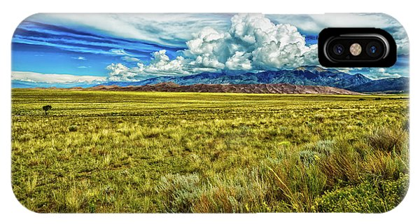 Sangre De Cristo iPhone Case - Great Sand Dunes National Park by Gestalt Imagery