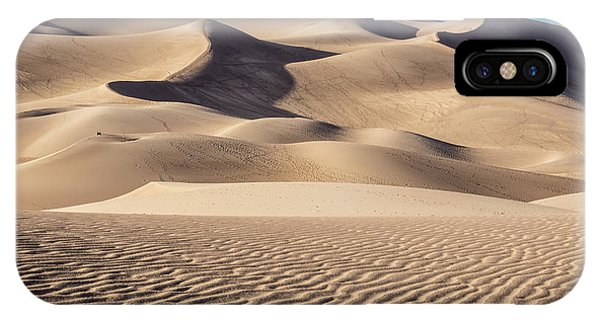 Great Sand Dunes National Park In Colorado IPhone Case