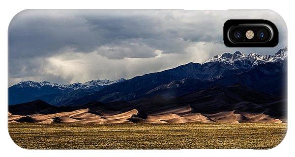 Great Sand Dunes Panorama IPhone Case
