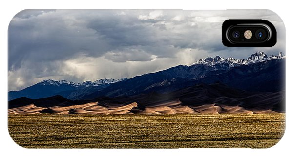 Great Sand Dunes Panorama IPhone Case