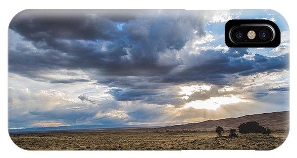 Great Sand Dunes Stormbreak IPhone Case