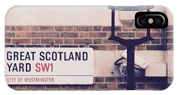Great Scotland Yard IPhone Case