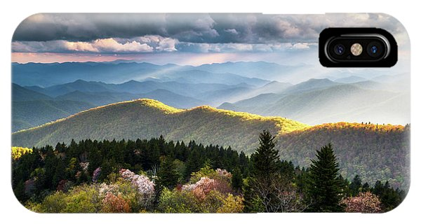 Nc iPhone Case - Great Smoky Mountains National Park - The Ridge by Dave Allen