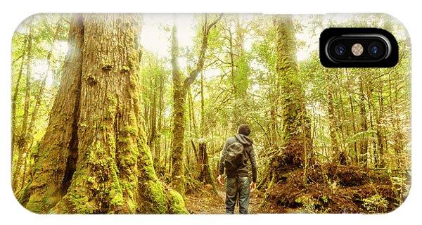 Hiking Path iPhone Case - Great Tasmania Short Walks by Jorgo Photography - Wall Art Gallery