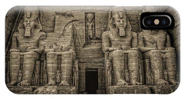 Great Temple Abu Simbel  IPhone Case
