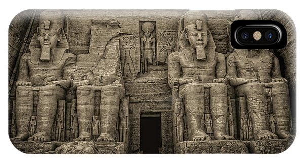 Great Temple Abu Simbel  IPhone Case