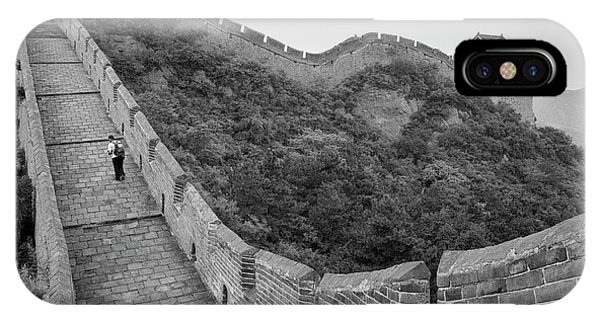 IPhone Case featuring the photograph Great Wall 9, Jinshanling, 2016 by Hitendra SINKAR