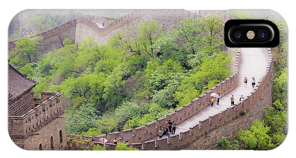 Great Wall At Badaling IPhone Case