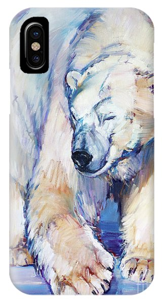 Great White Bear IPhone Case