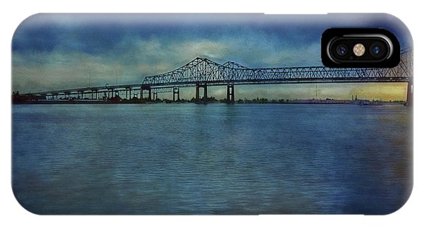 Greater New Orleans Bridge IPhone Case