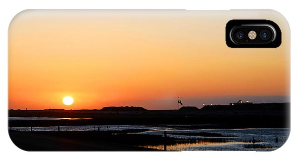 Greater Prudhoe Bay Sunrise IPhone Case