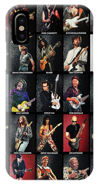 Greatest Guitarists Of All Time IPhone Case