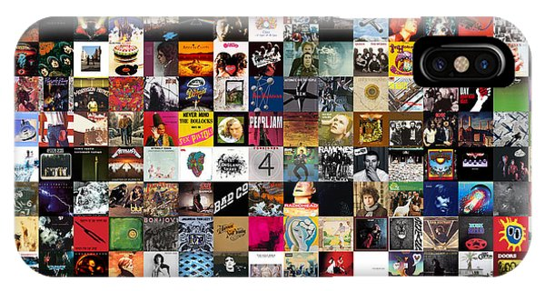 Greatest Rock Albums Of All Time IPhone Case