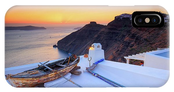 Greece iPhone Case - Fishing Boat  by Emmanuel Panagiotakis