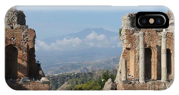 Greek Theatre Taormina IPhone Case