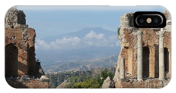 Greek Theatre Taormina IPhone Case