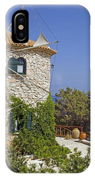 Greek Windmill IPhone Case
