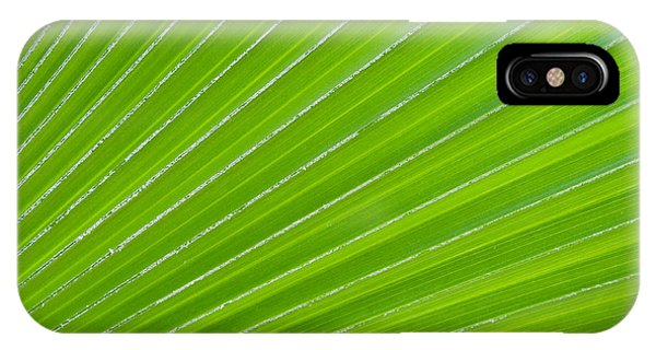 Green Abstract No. 1 IPhone Case