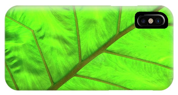 Green Abstract No. 5 IPhone Case