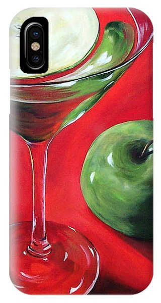 iPhone Case - Green Apple Martini by Torrie Smiley