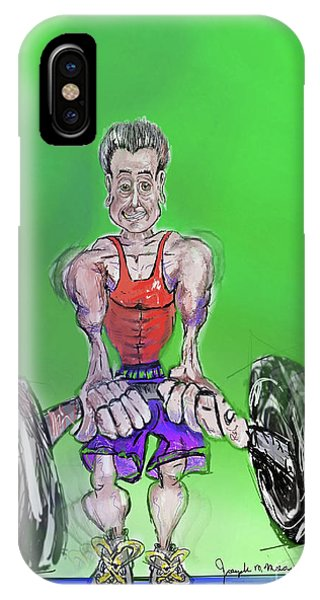 Green At Work Out West IPhone Case