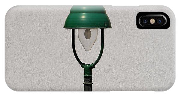 Green Bavarian Lamp IPhone Case