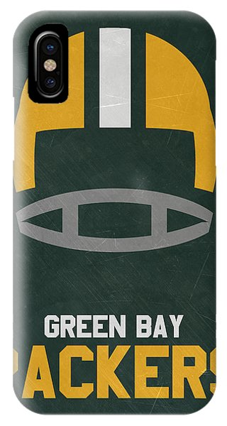 Nfl iPhone Case - Green Bay Packers Vintage Art by Joe Hamilton