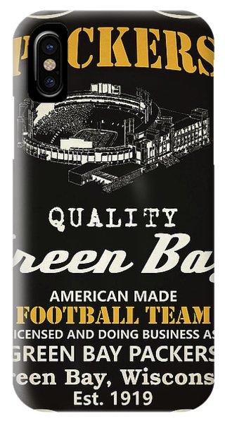 Tickets iPhone Case - Green Bay Packers Whiskey by Joe Hamilton