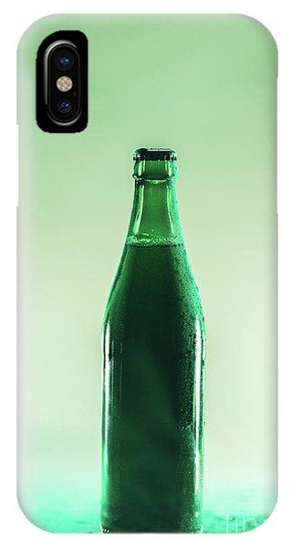 St. Patricks Day iPhone Case - Green Beer Bottle. St. Patrick's Day by Michal Bednarek