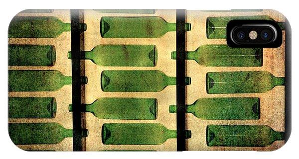 Green Bottles IPhone Case