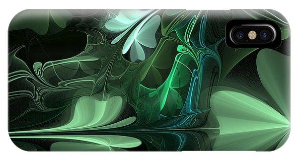 Green Clover Field IPhone Case