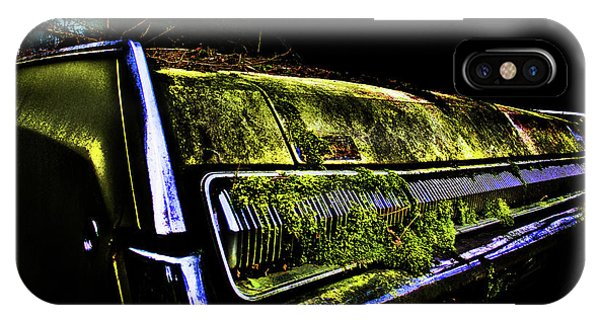 IPhone Case featuring the photograph Green Dodge Glory by Glenda Wright