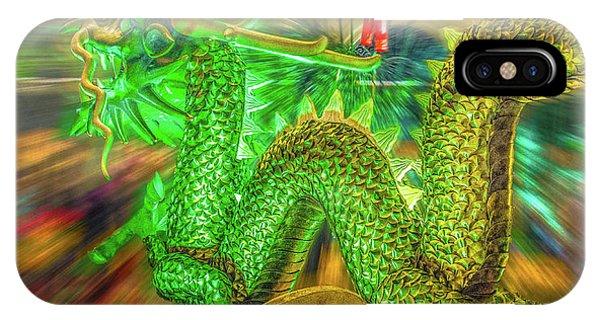 Green Dragon IPhone Case