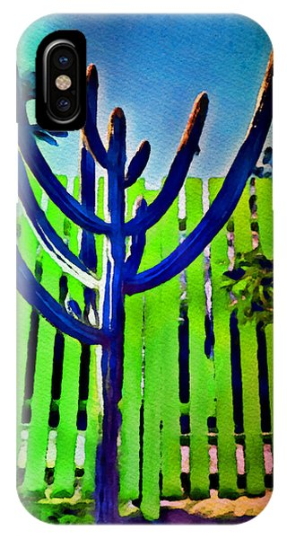 Green Fence IPhone Case
