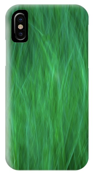 Green Fire 2 IPhone Case