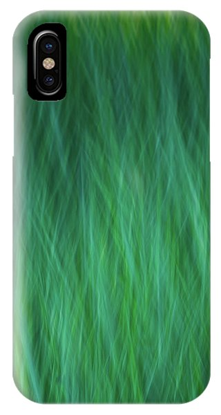 Green Fire 3 IPhone Case