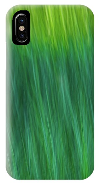 Green Fire 4 IPhone Case