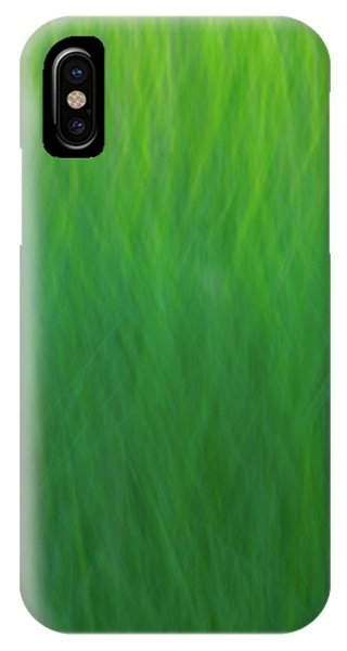 Green Fire 7 IPhone Case