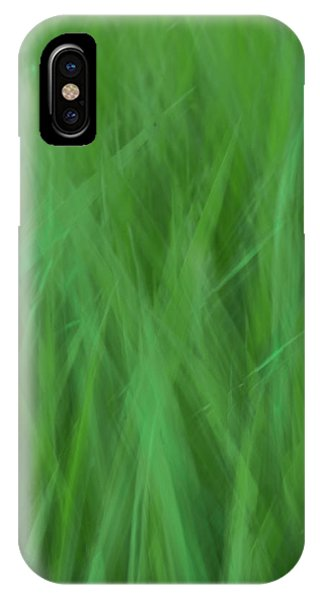 Green Fire 8 IPhone Case