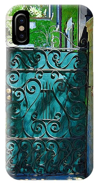 Green Gate IPhone Case