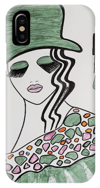 Green Hat IPhone Case